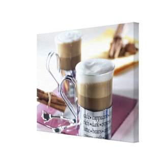 Cappucino For use in USA only.) 2 Gallery Wrap Canvas