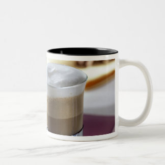 Cappucino For use in USA only.) 2 Two-Tone Coffee Mug