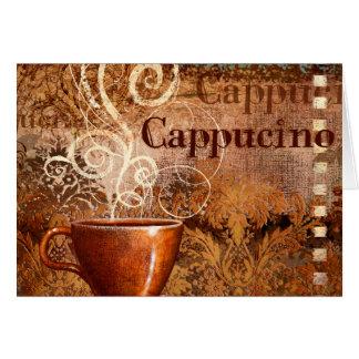 Cappucino Greeting Card
