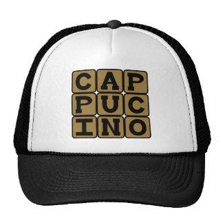 Cappucino, Italian Coffee Drink Hats