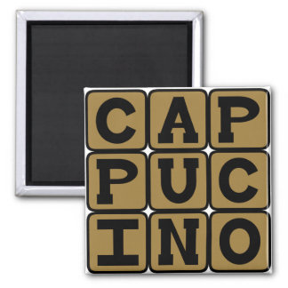 Cappucino, Italian Coffee Drink Magnet