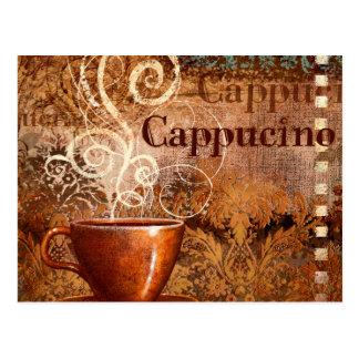 Cappucino Postcard