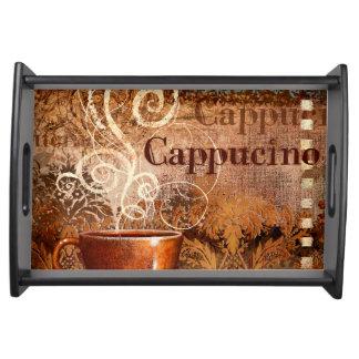 Cappucino Serving Platter