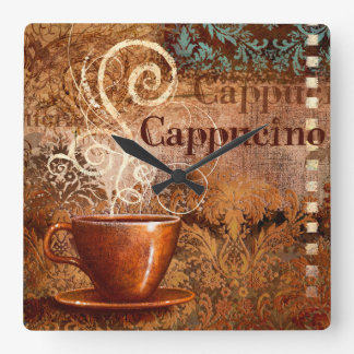 Cappucino Wallclock