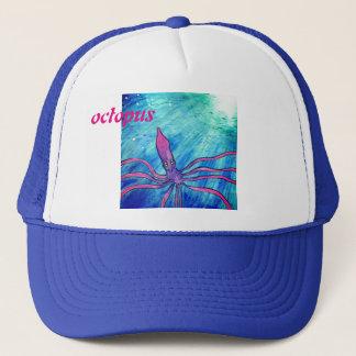 Cappy Octopus/cuttlefish/Kalmar Trucker Hat