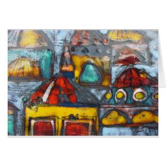 Capri Houses Card