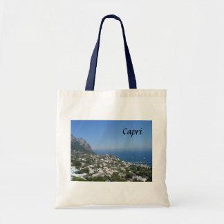 Capri, Italy Budget Tote Bag