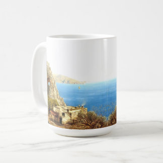 Capri Italy House Mediterranean Ocean Sea Mug
