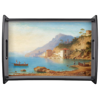 Capri Italy Mediterranean Sea Serving Tray