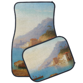 Capri Italy Ocean Fishing Boats Car Floor Mats