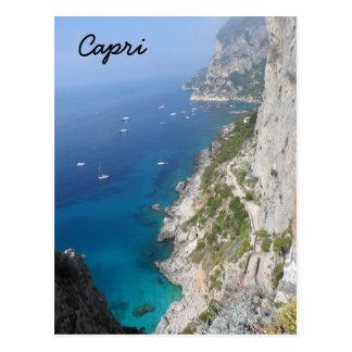 Capri, Italy Postcard