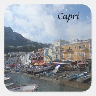 Capri, Italy Square Sticker