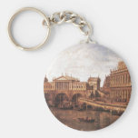 Capriccio: a Palladian Design for the Rialto Basic Round Button Key Ring