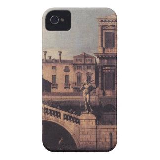Capriccio: The Ponte della Pescaria and Buildings Case-Mate iPhone 4 Cases