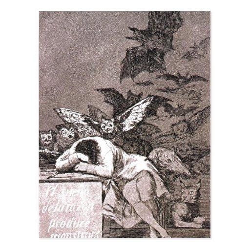 Caprichos - The Sleep of Reason Sumario El sue?o d Postcards