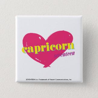 Capricorn 15 Cm Square Badge