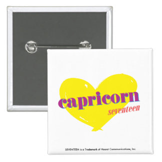 Capricorn 3 15 cm square badge