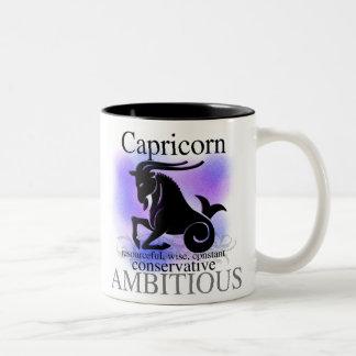 Capricorn About You Two-Tone Coffee Mug