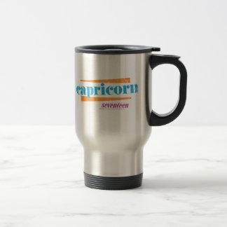 Capricorn Aqua Travel Mug