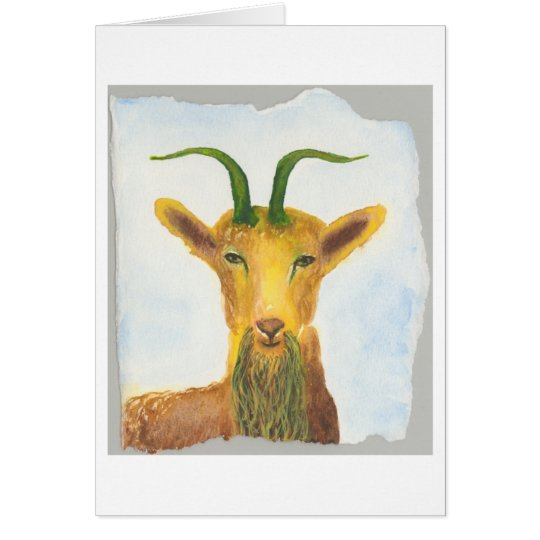 Capricorn Birthday Card