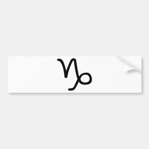 Capricorn Bumper Sticker