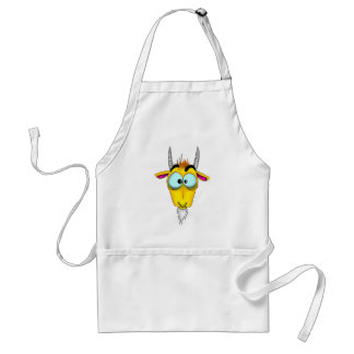 Capricorn Cartoon Standard Apron