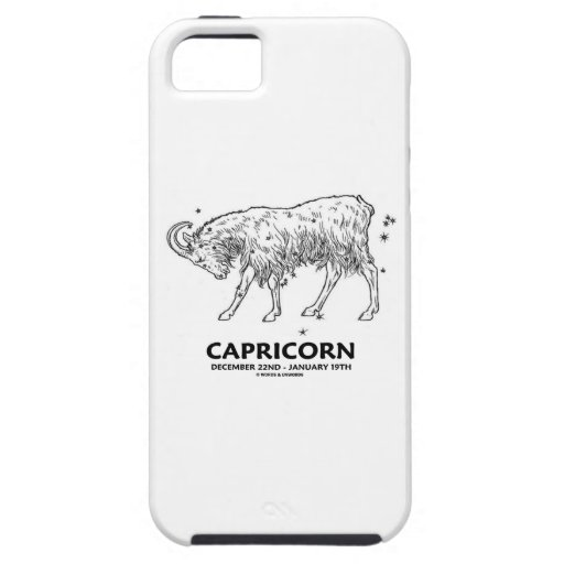 Capricorn (December 22nd - January 19th) iPhone 5 Covers