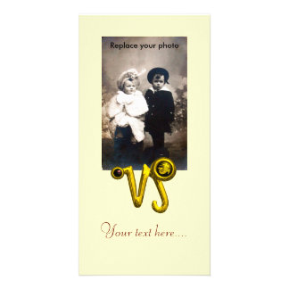 CAPRICORN GOLD ZODIAC BIRTHDAY JEWEL,Black Onyx Picture Card