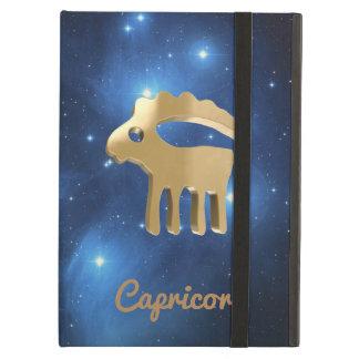 Capricorn golden sign iPad air cases