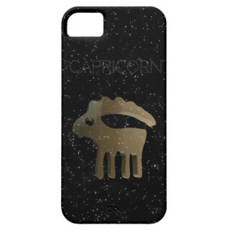 Capricorn golden sign iPhone 5 cases
