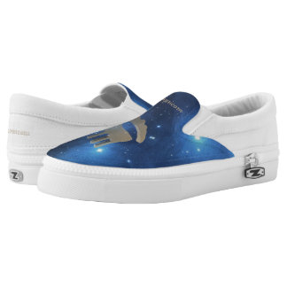 Capricorn golden sign Slip-On shoes