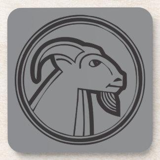 Capricorn Grey Coaster