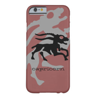 Capricorn in black barely there iPhone 6 case