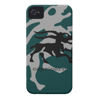 Capricorn in black Case-Mate iPhone 4 cases