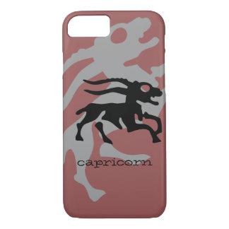 Capricorn in black iPhone 7 case