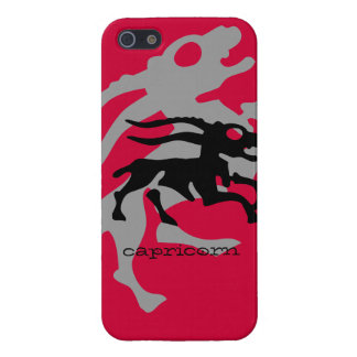 Capricorn in black case for the iPhone 5