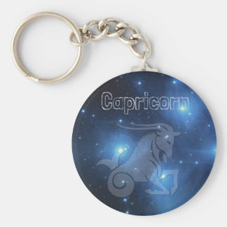 Capricorn Key Ring
