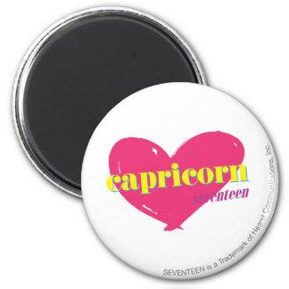 Capricorn 6 Cm Round Magnet