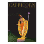 Capricorn Note Stationery Note Card