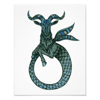 Capricorn Symbol Photo Art