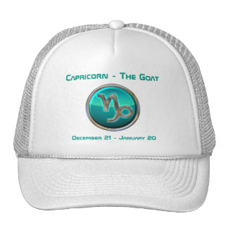 Capricorn - The Goat Astrological Sign Cap