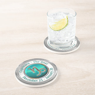 Capricorn - The Goat Astrological Sign Coaster