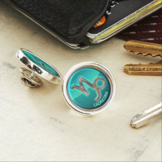 Capricorn - The Goat Astrological Sign Lapel Pin