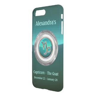 Capricorn - The Goat Astrological Symbol iPhone 8 Plus/7 Plus Case