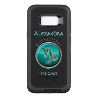 Capricorn - The Goat Horoscope Sign OtterBox Defender Samsung Galaxy S8+ Case
