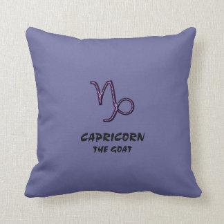 Capricorn the goat pillow