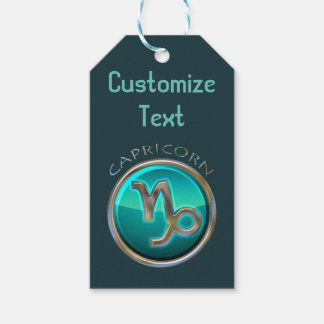 Capricorn - The Goat Zodiac Sign Gift Tags