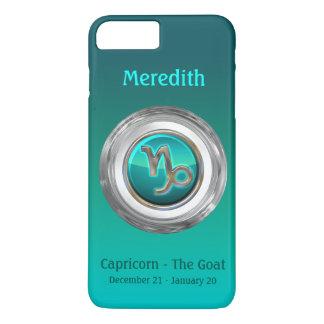 Capricorn - The Goat Zodiac Sign iPhone 8 Plus/7 Plus Case