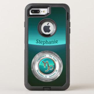 Capricorn - The Goat Zodiac Sign OtterBox Defender iPhone 8 Plus/7 Plus Case