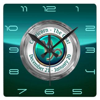 Capricorn - The Goat Zodiac Sign Wall Clock